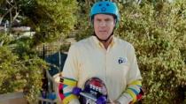 《老爸当家》精彩片段 法瑞尔挑战极限滑板出洋相
