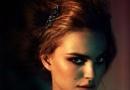 娜塔莉·波特曼冷艳时尚大片 精致妆容小露美胸