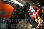 """《美队3》新概念图 """"美队""""与""""黑豹""""展开恶战"""