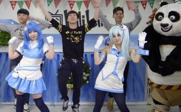 《功夫熊猫3》主题曲快闪舞蹈 节奏明快全民欢跳