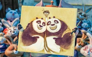 《功夫熊猫3》爆笑上映 群星力荐喊你一起看熊猫