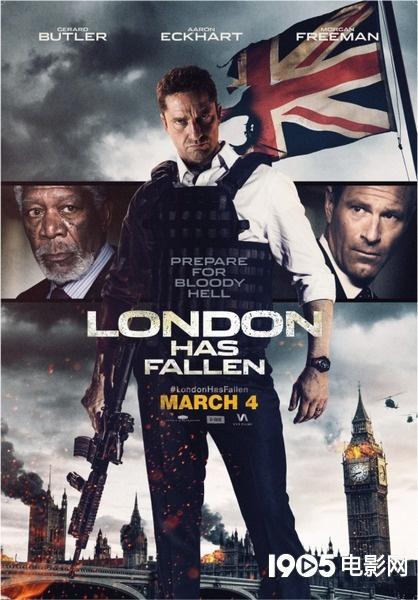 《伦敦陷落》北美首周末收2200万美元 影迷盼续集