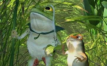 《青蛙总动员》曝先导预告 反派牛蛙凶狠登场