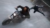 《美国队长3》中文特辑 黑豹冬兵的隧道追逐战