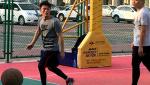 霍建华打篮球动作矫健 被称赞现实版流川枫