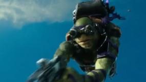 《忍者神龟2》中文宣传片 上天入地展现超强技能