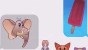 《疯狂动物城》颜文字形象短片 萌宠对话还原故事