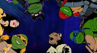 《忍者神龟2》复古风动画MV 美漫画风重塑经典