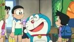 《哆啦A梦》正片片段 坐时光机冒险离家出走