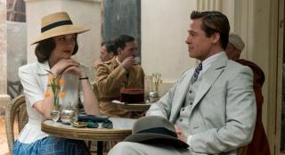 皮特新作《联盟》首曝照 二战版《史密斯夫妇》