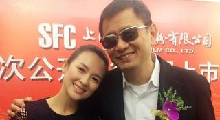 章子怡晒与王家卫合影 被猜测将出演《繁花》