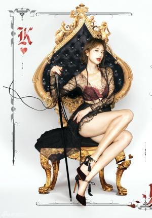 张俪登杂志封面 大展好身材尺度惊人性感爆表