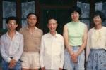 胡海泉晒26年前与郎平同框旧照 超短牛仔裤抢镜