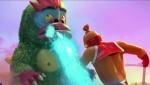《麦兜·饭宝奇兵》打怪兽片段 麦兜开启洪荒之力
