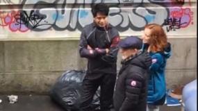 《玩家一号》拍摄现场直击 斯皮尔伯格街边导戏