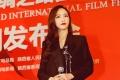唐嫣出席《大话西游3》发布会 帅气不失性感