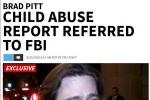 外媒曝布拉德·皮特涉嫌虐待子女 FBI已介入调查