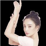 李小璐生日芭蕾写真