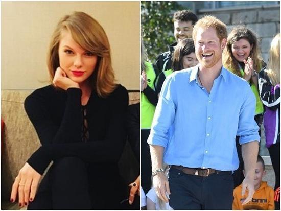 想当英国王妃?霉霉被曝主动追求哈里王子