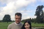 周玲安伦敦探班《变形金刚5》 访问乔什·杜哈明