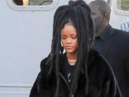 蕾哈娜亮相《八大罗汉》片场 布兰切特气场强大