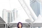 """""""志明春娇""""系列电影第三部《春娇救志明》目前正在拍摄中,在一场户外游乐场戏份拍摄时,彭浩翔、杨千嬅、余文乐三人的黄金组合一现身立刻引发大批路人围观。"""