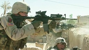 《比利·林恩的中场战事》曝片段 比利疯狂扫射