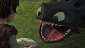 《驯龙高手》片段 不喷火的龙