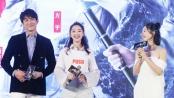 1201快讯:吴京拍片差点耳聋 《三少爷的剑》首映
