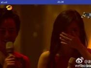 谢娜飙泪疑表白张杰:希望我们能永远在一起