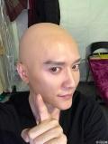 冯绍峰晒《西游记·女儿国》光头造型 遭PS成卤蛋