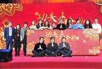 """1月5日,2017贺岁档功夫喜剧《功夫瑜伽》在京举办""""功夫瑜伽舞""""MV发布会,姜雯身着藏蓝色西装裤裙,一双美腿实力抢镜。"""