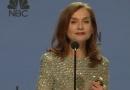 伊莎贝尔·于佩尔凭借《她》成金球影后 后台发言