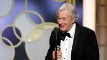 《她》获电影类最佳外语片 保罗·范霍文后台发言
