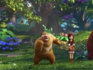 《熊出没·奇幻空间》番外短视频 光头强逗趣冒险