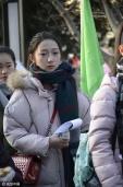 """2017年北影艺考开考""""翻版唐嫣、周冬雨""""抢镜"""