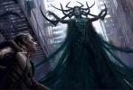 日前,影片《雷神3:诸神黄昏》再曝光一张IMAX版新海报,该海报将之前的人物海报漫画风进行到底。不过与之前的彩色泼墨风不同的是,这次彻底改用漫画细线条绘制角色。除了雷神的角色为红色以外,其余七个角色绿巨人浩克、反派死神海拉、洛基、瓦尔基里、海姆达尔、高天尊以及奥丁均为绿色。