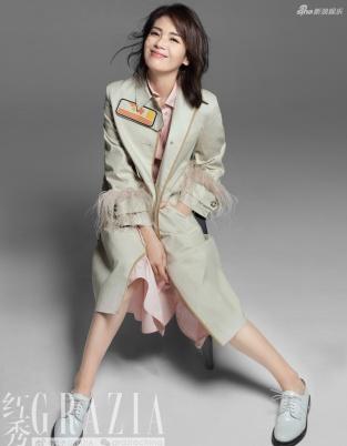 刘涛登杂志封面秀美腿 这样的安迪魅惑又知性