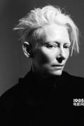 蒂尔达·斯文顿杂志写真 黑白照片尽显神秘高贵