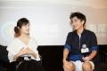 《李雷和韩梅梅》深圳路演 高考结束后二人齐聚
