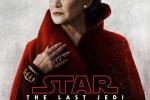 《星球大战8》发布人物海报 主打红色风格一致