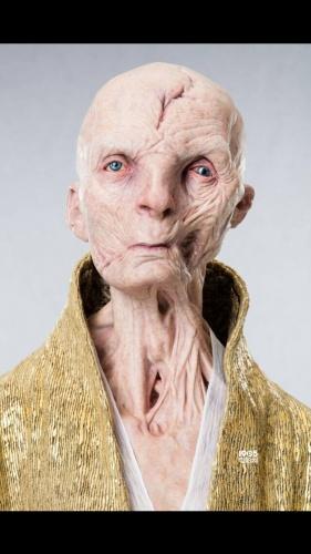 《星战8》新造型照 卢克战服黑暗反派斯诺克亮相_好莱坞