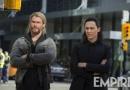 《雷神3》曝新照 索尔洛基人类服装现身纽约都市