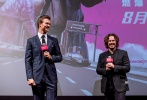 在北美收获超高口碑,烂番茄新鲜度94%的飙车动作电影《极盗车神》即将于8月25日登陆内地院线。8月16日晚,该片举行中国首映,导演埃德加·赖特携男主角安塞尔·埃尔格特亮相红毯。