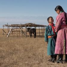 乌珠穆沁的孩子