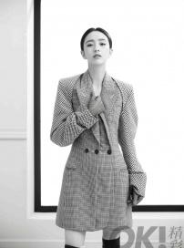 佟丽娅最新封面大片曝光 化身帅气女王气质满分