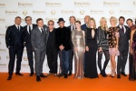 《王牌特工2》举行全球首映 全明星阵容华丽亮相