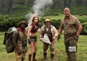 《勇敢者的游戏》新预告 巨石强森赤膊上阵闯丛林