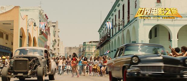 【世界电影之旅】游走哈瓦那老城 回味《速度与激情8》的花式飙车