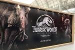 """《侏罗纪2》新banner 霸王龙嘶吼""""星爵""""显严肃"""